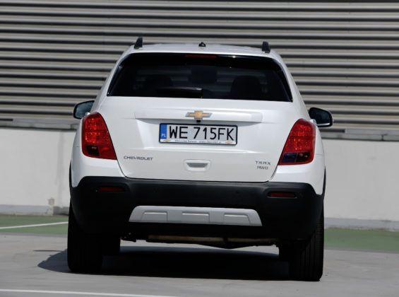 Chevrolet Trax - tył