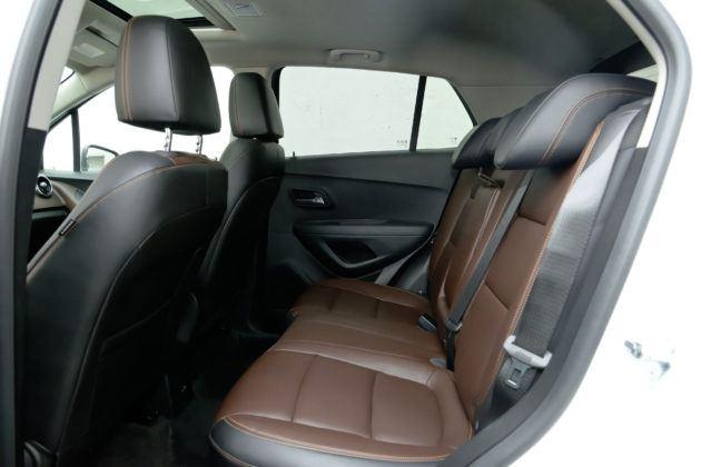 Chevrolet Trax - tylna kanapa