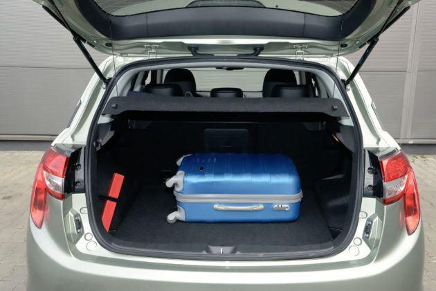 Citroen C4 Aircross - bagażnik