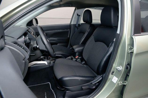 Citroen C4 Aircross - fotel kierowcy