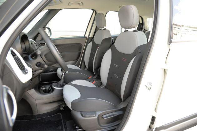 Fiat 500L - fotel kierowcy
