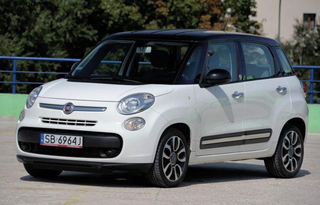 Fiat 500L - przód
