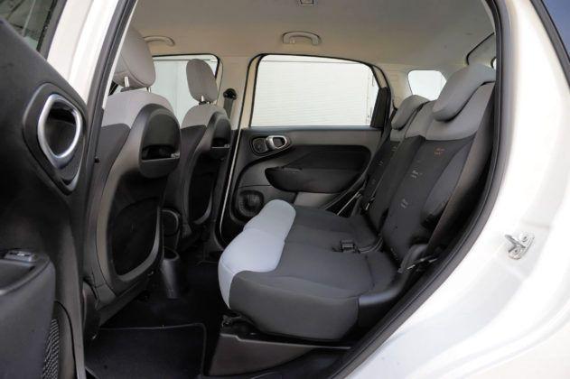 Fiat 500L - tylna kanapa