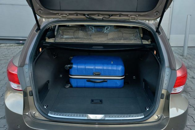 Hyundai i40 - bagażnik