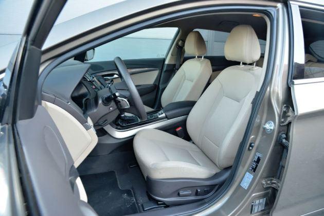 Hyundai i40 - fotel kierowcy