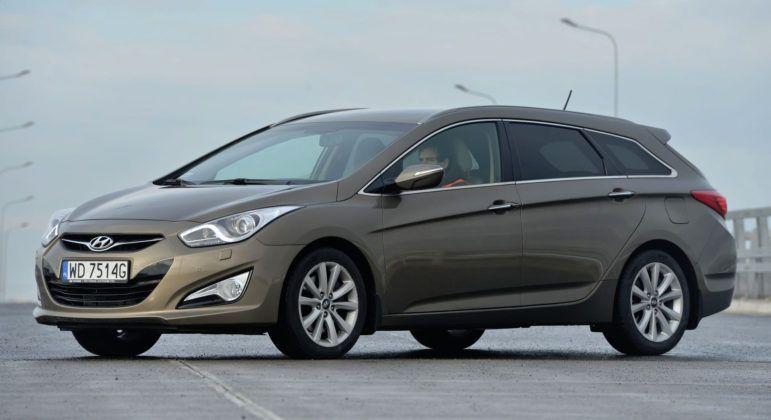 Hyundai i40 - przód