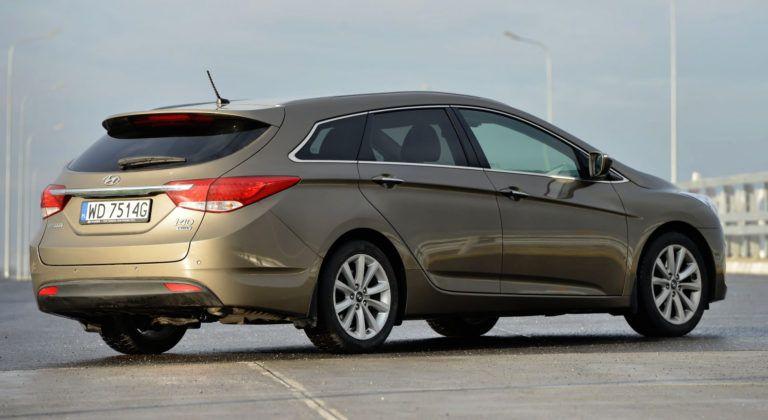 Hyundai i40 - tył