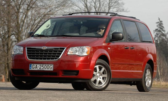 Miejsce 16 - Chrysler Grand Voyager
