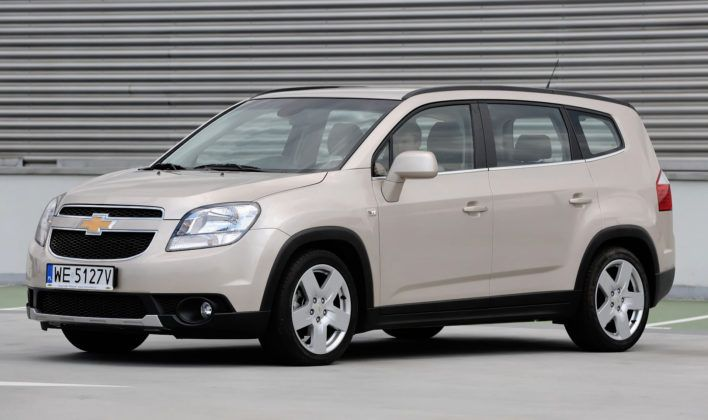 Miejsce 18 - Chevrolet Orlando