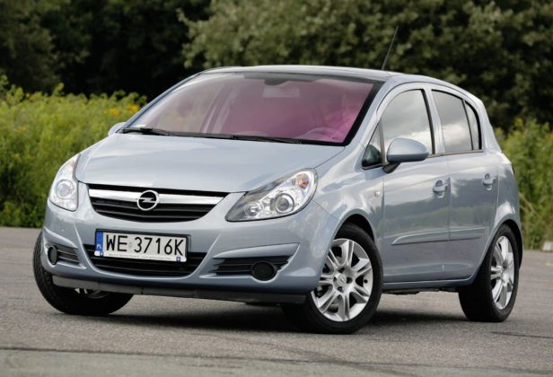 Miejsce 9 - Opel Corsa