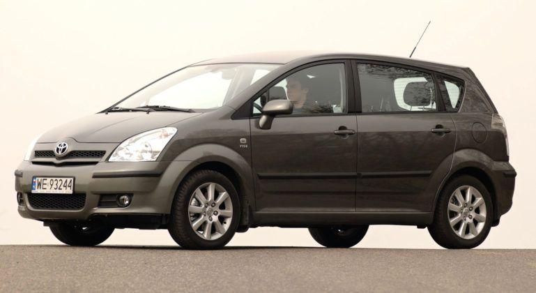 Miejsce 9 - Toyota Corolla Verso