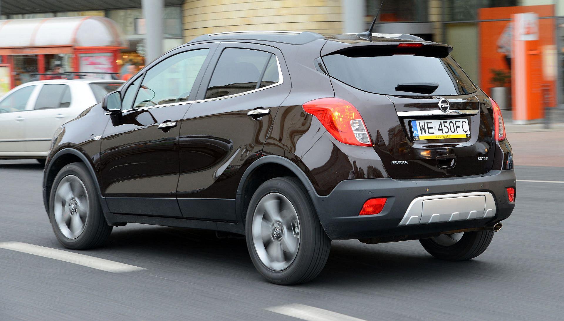 Uzywany Opel Mokka I 2012 2019 Opinie Dane Techniczne Typowe Usterki