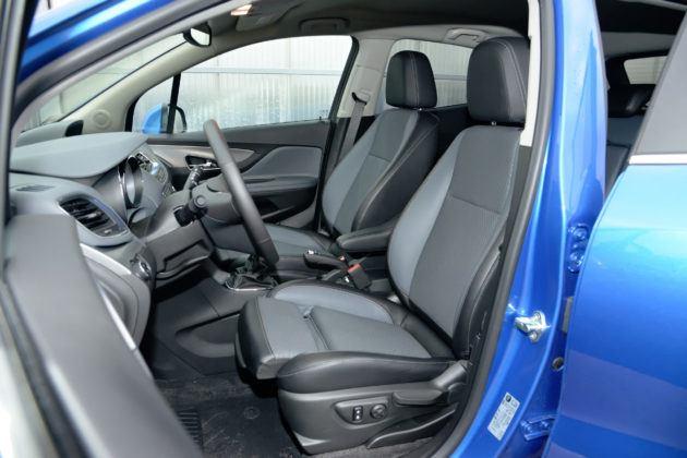 Opel Mokka - fotel kierowcy