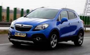 Opel Mokka - otwierające