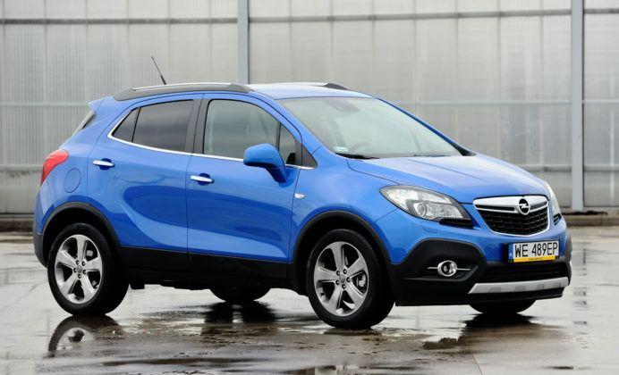 Opel Mokka - przód