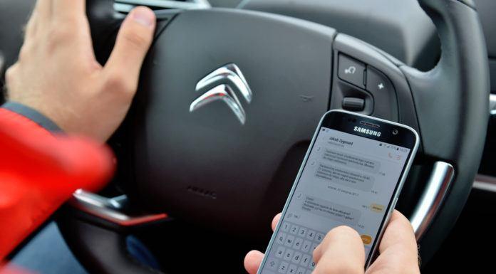 SMS podczas jazdy
