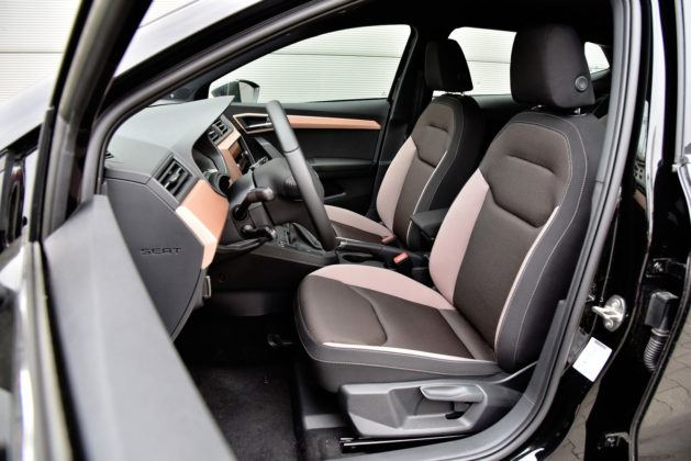 Seat Ibiza - fotel kierowcy
