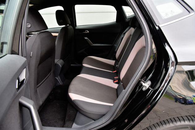 Seat Ibiza - tylna kanapa