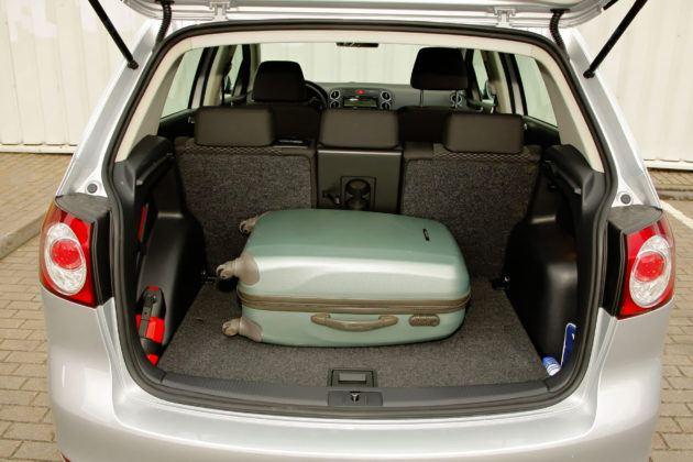 Volkswagen Golf Plus - bagażnik