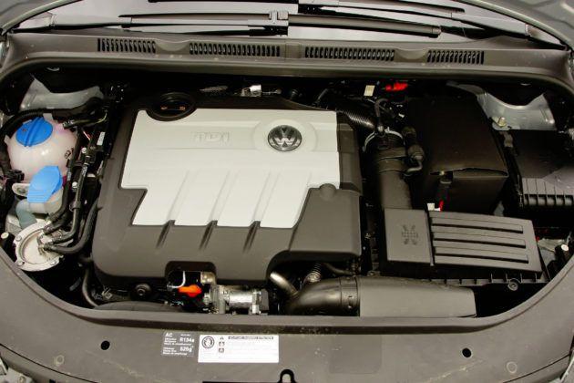 Volkswagen Golf Plus - silnik