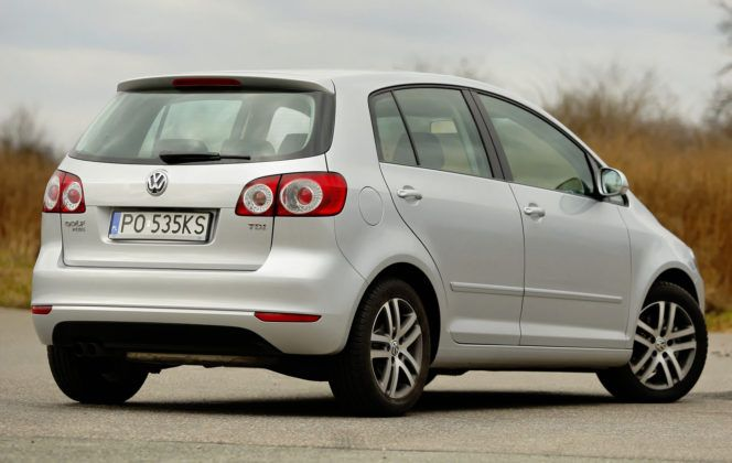 Volkswagen Golf Plus - tył