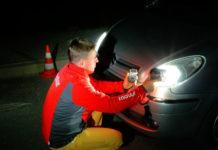 Pomiar emisji światła LED H4