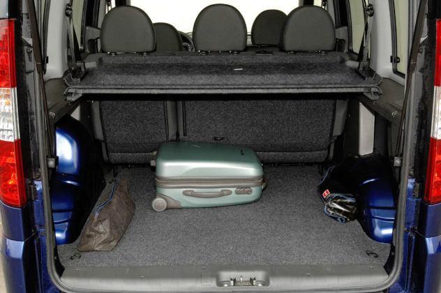 Fiat Doblo - bagażnik