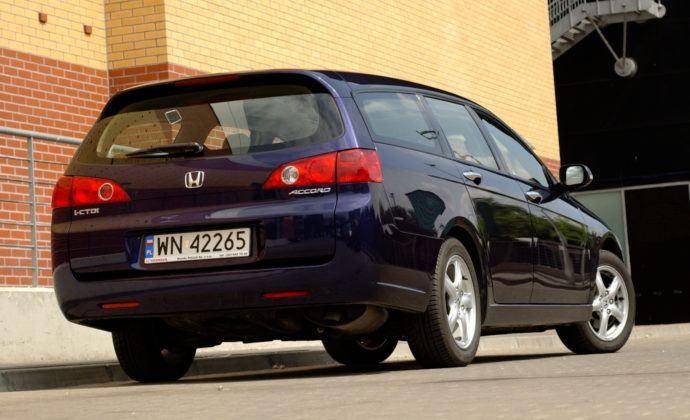 Honda Accord - tył