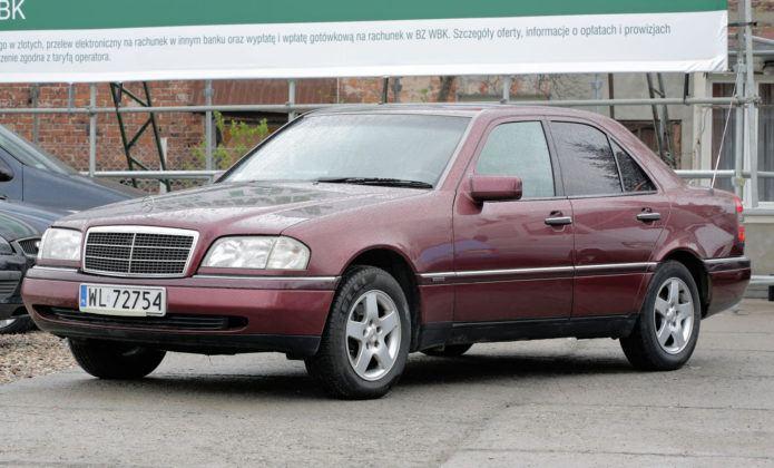 Mercedes 220 CDI OM611 - Mercedes Klasy C W202