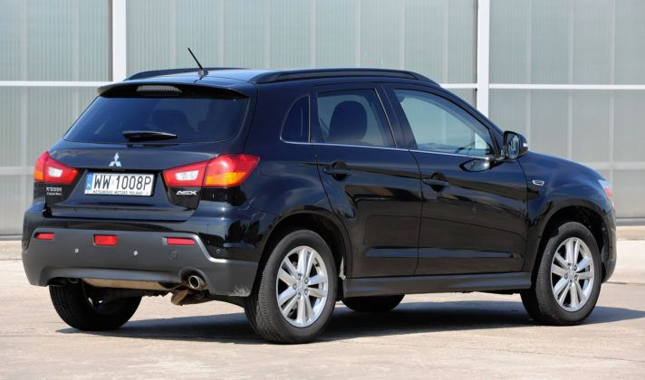 Mitsubishi ASX - tył