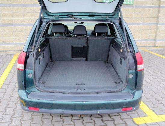 Opel Vectra - bagażnik