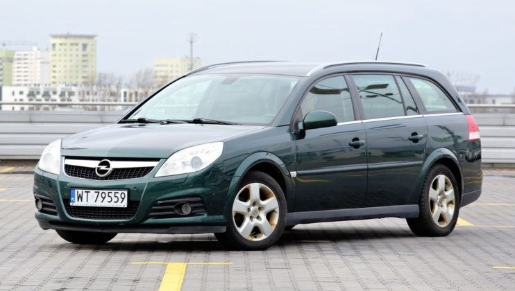 Opel Vectra - przód