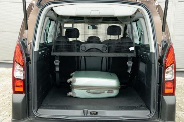 Peugeot Partner - bagażnik