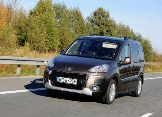 Peugeot Partner - otwierające