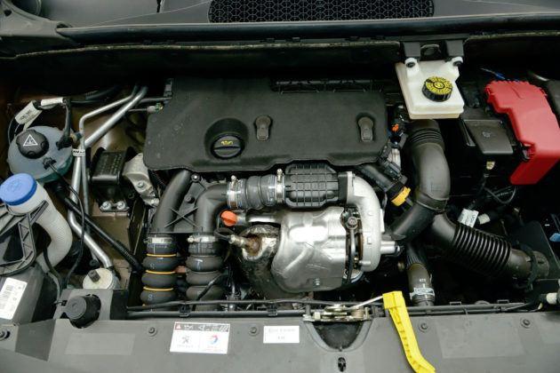 Peugeot Partner - silnik