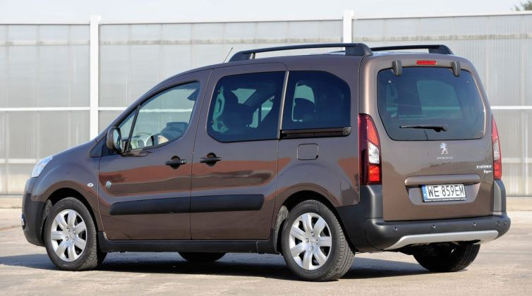Peugeot Partner - tył