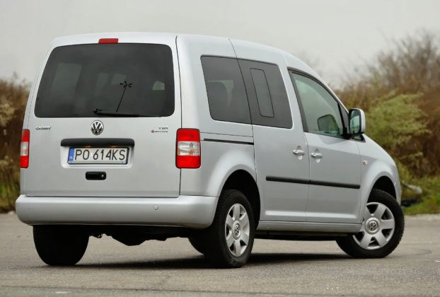 Volkswagen Caddy - tył