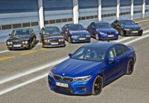 BMW M5 - wszystkie generacje