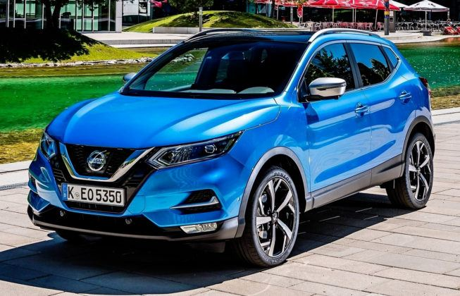Łotwa - Nissan Qashqai