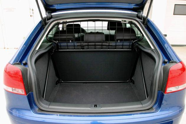 Audi A3 - bagażnik