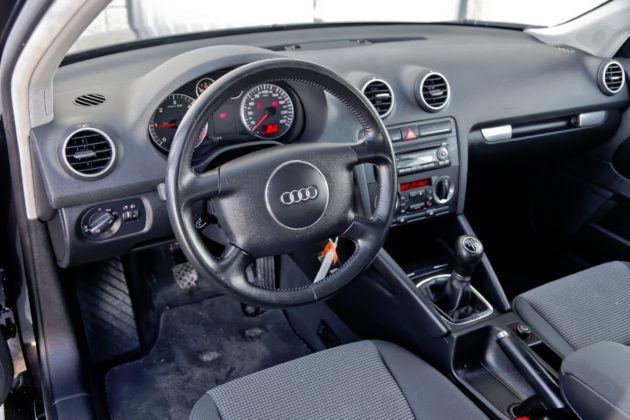 Audi A3 - deska rozdzielcza