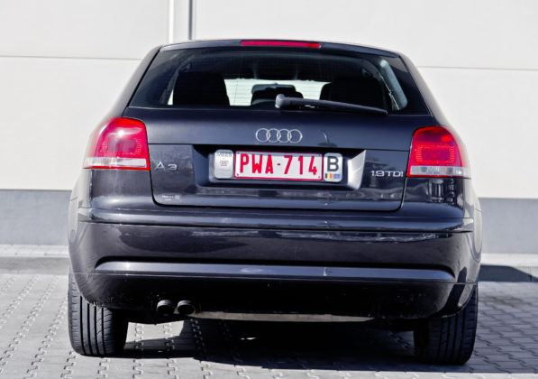 Audi A3 - tył