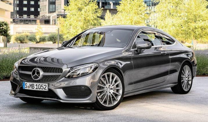 Auta coupe - premium - Mercedes Klasy C Coupe