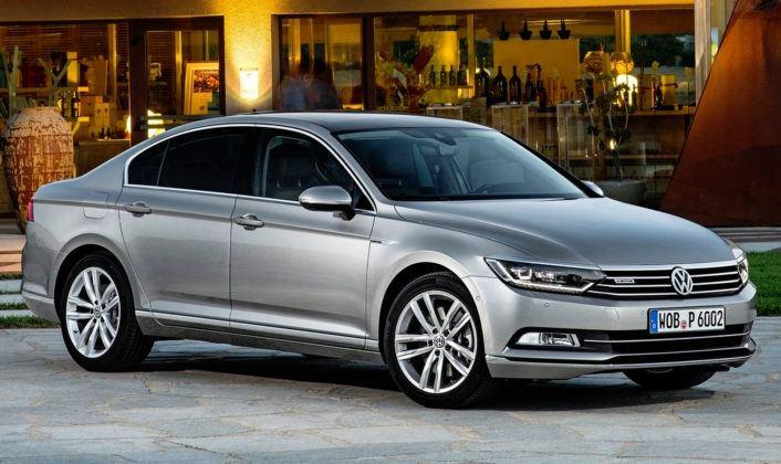Auta klasy średniej - popularne - Volkswagen Passat