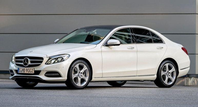 Auta klasy średniej - premium - Mercedes Klasy C