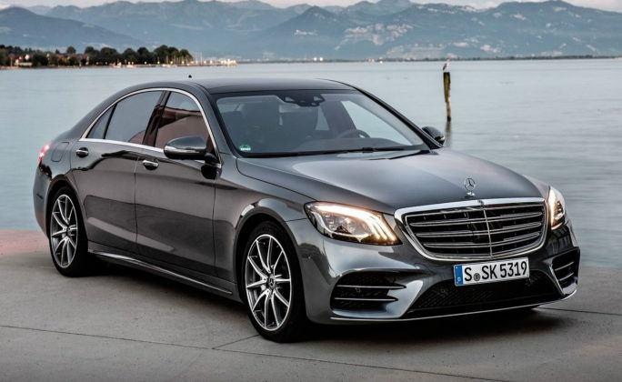 Auta klasy luksusowej - premium - Mercedes Klasy S
