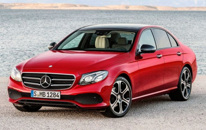 Auta klasy wyższej - premium - Mercedes Klasy E