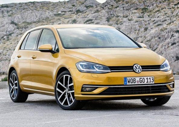 Auta kompaktowe - popularne - Volkswagen Golf