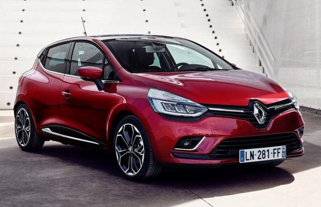 Auta miejskie - popularne - Renault Clio