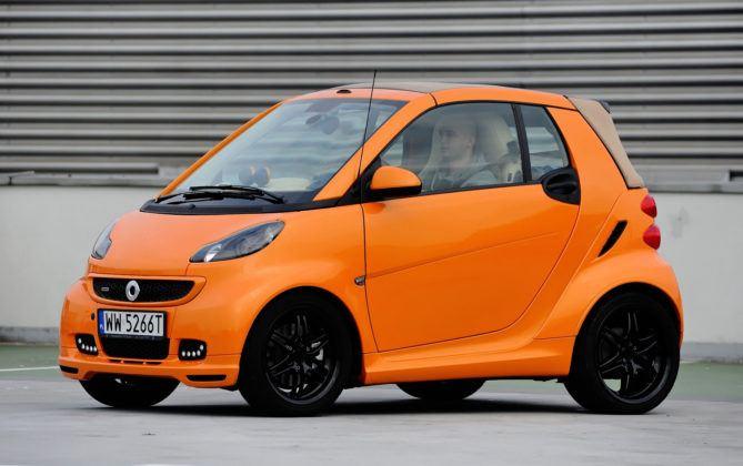 Auta mini - najgorszy - Smart Cabrio Brabus